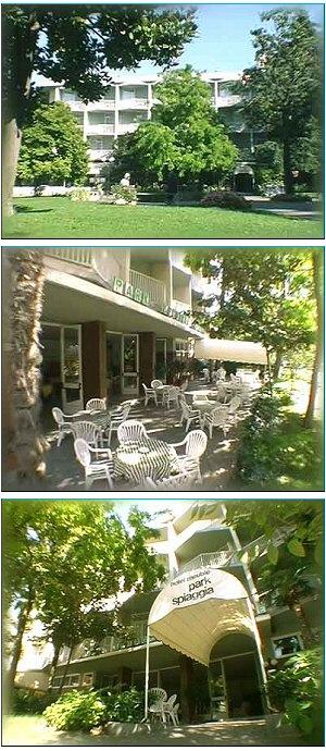 hotel meubl park spiaggia prenotazione albergo grado
