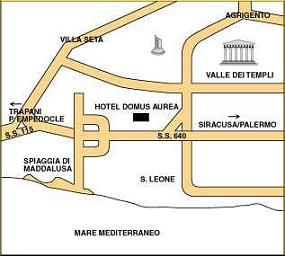 Hotel Domus Aurea Hotel Agrigento