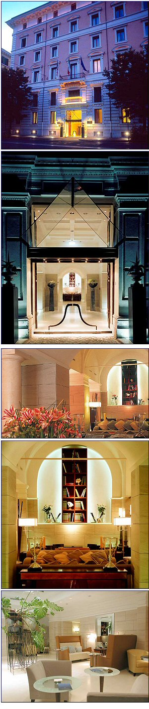 Hotel Rose Garden Palace Prenotazione Albergo Roma Hotel In Lazio City Hotel Accommodation In