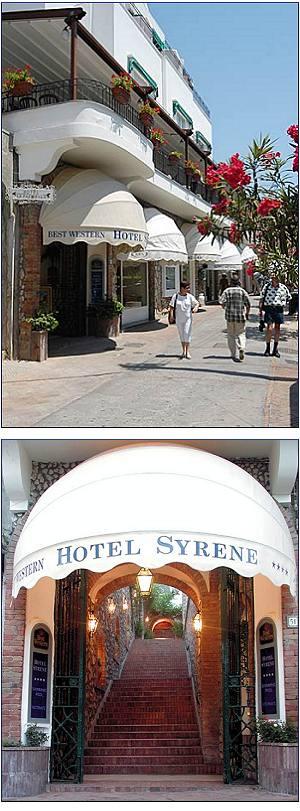 Best Western Hotel Syrene Hotel Capri