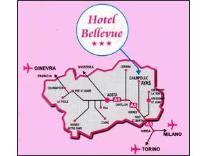 Hotel Bellevue Champoluc Hotel Ayas