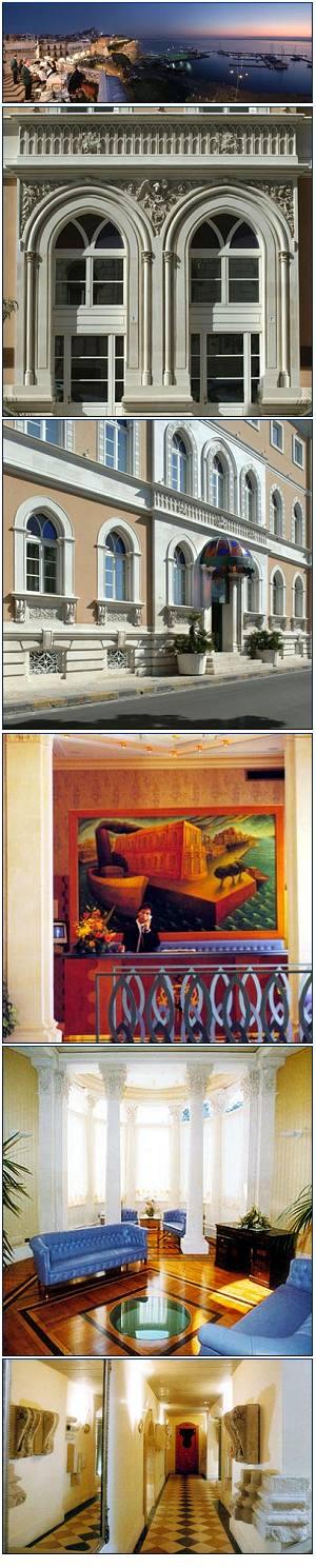 Grand hotel prenotazione albergo siracusa hotel in sicilia for Grand hotel siracusa